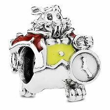 Alice in Wonderland White Rabbit charm 79189 Pandora 2016 genuine silver NEW