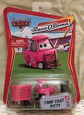 TANK COAT PITTY Pink Disney Pixar Cars 1:55 Race O Rama Diecast Racing M2483 NEW