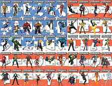 US AVENGERS 1 53 VARIANT SET ALL 50 STATE CANADA DC PEURTO RICO NM