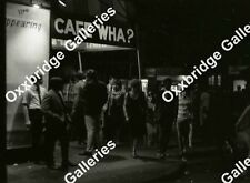 CAFE WHA? New York Beatnik Music Club PHOTO NEGATIVE 1966 Manny Roth Underground