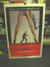 JAMES BOND-FOR YOUR EYES ONLY- US ADVANCE ONE SHEET MOVIE POSTER - 8.5