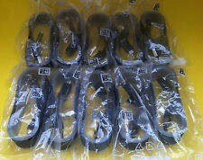 10x OEM 1.5M 5ft Black Fast Charge Cables for Samsung Galaxy Note 5 S6/7 EDGE