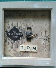 NEW HANDMADE PERSONALISED HARRY POTTER MINI FIGURE PICTURE (FITS LEGO) SCRABBLE