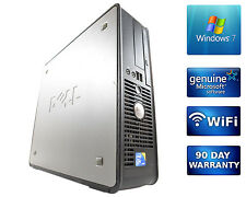 Dell Desktop Computer PC Quad Core 2.4GHz 4GB DDR3 1TB Windows 7 Pro WiFi