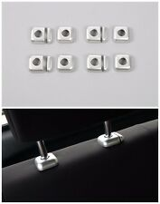 Car seat pillow height adjustment Trims Cover for Suzuki Jimny 2007-2016 Silver
