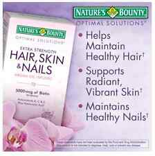 Nature's Bounty® Extra Strength Hair Skin and Nails Multivitamin mineral 250 ct