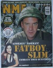 UK NME 21.10.2000 Fatboy Slim PJ Harvey Radiohead
