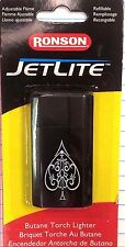 JET LITE, RONSON, BUTANE TORCH LIGHTER, ADJUSTABLE FLAME, REFILLABLE