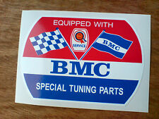 BMC Rosette  SPECIAL TUNING PARTS Classic Retro Decal Sticker 1 off 85mm