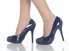 NEW WOMENS LADIES STILETTO HIGH HEEL COURT SHOES SIZE 3 4 5 6 7 8