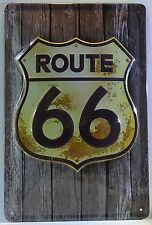 ROUTE 66 , BLECHSCHILD USA HIGHWAY