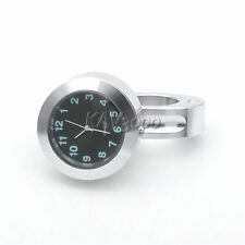Motorcycle Chrome Clock For Harley Davidson Sportster Custom XL 1200 883 Cruiser