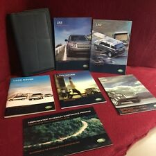 2007 Land Rover LR2 OEM Owners Manual book set with navigation book and case