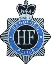 Hot Fuzz Sandford Police Badge Embroidered Patch 9cm