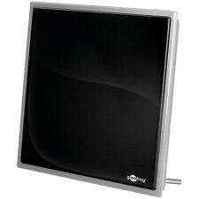 Activo Antena interior TDT incluye fuente de alimentación 30 dB DVB-T/DVB-T2