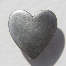 Herz Heart Herzknopf Damen Druckknopf Knopf Ersatzknopf Snap Metall NEU