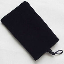 Black Phone Soft Cloth Sleeve Case Bag Pouch For iPhone 4s 5 S3 4 5 note2 3 4 5