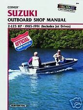 Suzuki Marine 2-225hp 1985-1991 Outboard Motor Boat Shop Service Repair Manual
