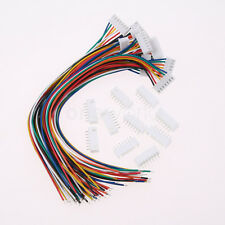 10 PCS Charger Silicon Cable Wire 7S1P Balance JST XH Connector Adapter Plug