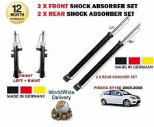 FOR FORD FIESTA 2.0 ST150 2005-2008 2x FRONT + 2 x REAR SHOCK ABSORBER STRUT SET