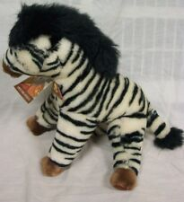 "Save The Animals Foundations STEPPE ZEBRA 14"" Plush STUFFED ANIMAL Toy NEW"