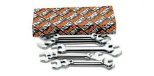 Beta herramientas 55/s8 final abierto spanners Set 8pc De 6mm A 22mm Cromo plateado