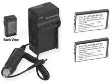 TWO CGA-S302A/1B CGA-S302E/1B Batteries + Charger for Panasonic SV-AV20 SV-AV25