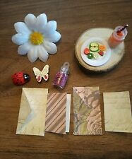 fairy garden accessories, fairy dust, flower, ladybug, great party bag fillers