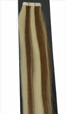20pcs 50g 22Inch Straight Tape In 100% Remy AAA Human Hair  Extensions #6/316