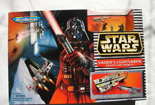 Star Wars Micro Machines Vaders Lightsaber Death Star trench playset MISB 1014