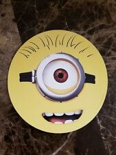 Dispicable Me Stewart Face 5 1/2 Inch Round Magnet Great Kids Movie