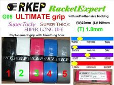 6 x RKEP ULTIMATE racquet racket nano super grip G05
