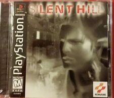 SILENT HILL Black Label Version playstation 1,psone,ps1 complete & Very Rare !