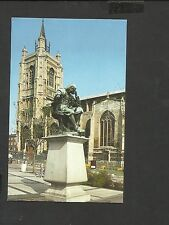 Jarrold Postcard St.Peter Mancroft Church &Statue Sir Thomas Browne Norwich