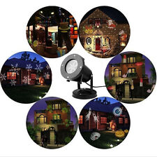 LED Laser Star 12 Patterns Christmas Outdoor Decoration Light Party Projector