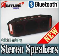 Wireless Bluetooth Stereo 2.1Speaker Handsfree for iPhone 7 Samsung