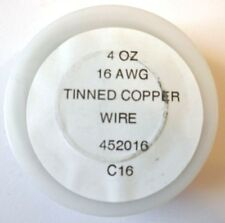16ga Tinned Copper Wire for Stained Glass Suncatchers and Panels