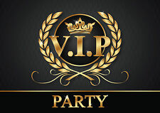 VIP INVITATIONS - 6 stylish Invitation cards / Tickets to the V.I.P.Party