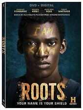 ROOTS - (2016 MINI SERIES) Lawrence Fishburne-  DVD -UK Compatible - Sealed