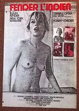 """""""Fender l'indien"""", affiche originale du film de Robert Cordier, 1971."""