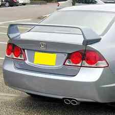 REAR TRUNK SPOILER MUGEN STYLE FOR HONDA CIVIC '06-'11 4D Saloon Unpainted