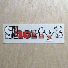 Shorty's skateboards vinyl sticker vintage 90s Rosa logo swimsuit girl