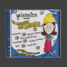 CD GELSOMINA TI PRESENTA LA MUSICA DEI BIMBI 2 SIGLE TV ANNI 80 NUOVO SIGILLATO
