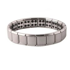 Titanium Magnetic Germanium Health Bracelet Bio Power Energy Armband Therapy.