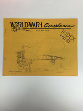 World War 1 Aeroplanes Magazine No. 75 September 1979