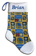 Personalized NBA Golden State Warriors Basketball Christmas Stocking