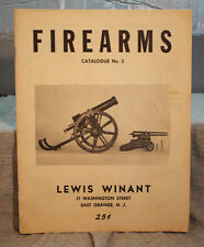 old FIREARMS Catalogue no 3 LEWIS WINANT Antique rifles pistols blunderbuss guns