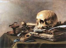Old Masters reprint (v1f13)Vanitas Still-Life 1630