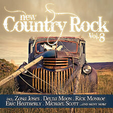 CD New Country Rock Volume 8 von Various Artists