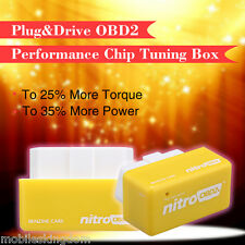 OBD2 II Performance Chip Tuning Remap Box Plug In&Drive fits Honda Toyota Diesel